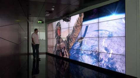 worlds largest interactive video wall  kinect