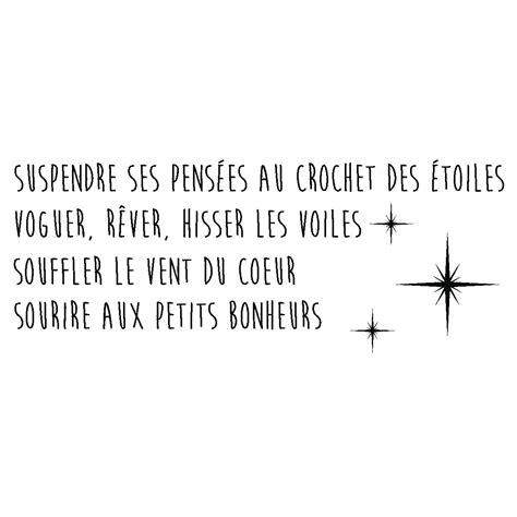 Citation Avec Sourire Sticker Citation Sourire Aux Petits Bonheurs Stickers Citations Fran 231 Ais Ambiance Sticker
