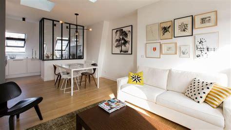 cuisine ouverte sur salon 30m2 refaire le salon relooking aménagement couleurs