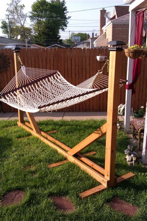hammock stand diy hammocks the garden glove Diy