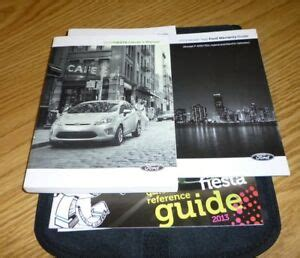 ford fiesta owners manual set guide  wcase  se