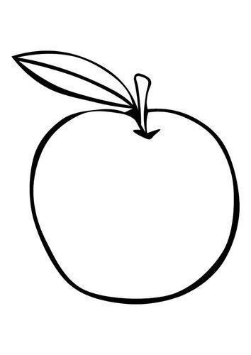 Kleurplaten Appelboom by Kleurplaat Appel School