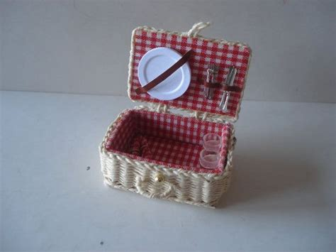 17 Best Images About Miniature Bags & Baskets On Pinterest