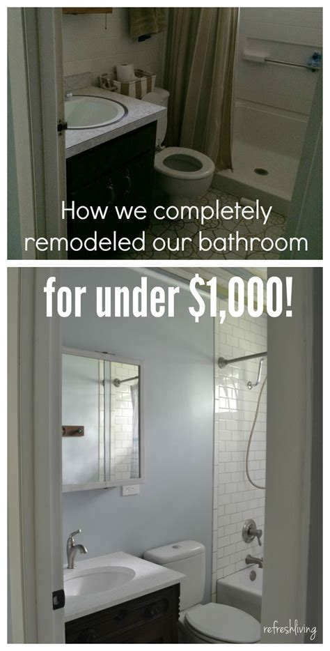 Small Bathroom Ideas On A Budget Uk by Bathroom Remodel On A Budget With Reclaimed Materials