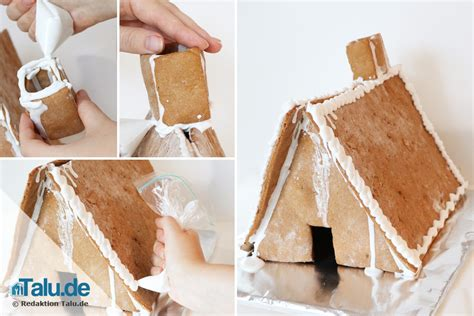 lebkuchenhaus selber machen anleitung einfaches rezept