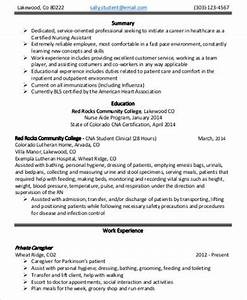 8 sample nursing assistant resumes sample templates With entry level nurse resume