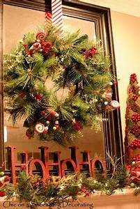 Christmas Mantle Decorations on Pinterest