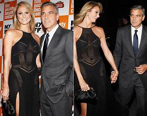 George Clooney Stacy Keibler Height