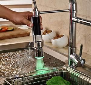 Levier De Cuisine : unique levier chrome poli vier de cuisine robinet un trou ~ Preciouscoupons.com Idées de Décoration