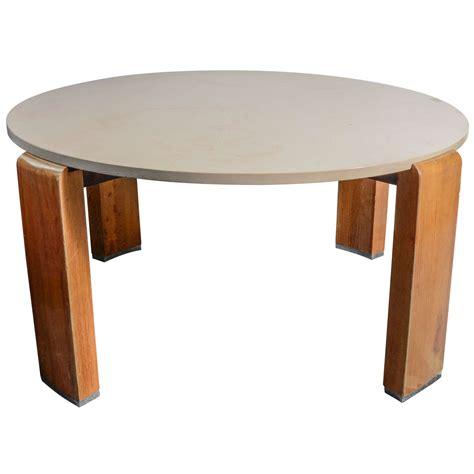 white and brown coffee table trendy brown and white wooden round pedestal coffee table