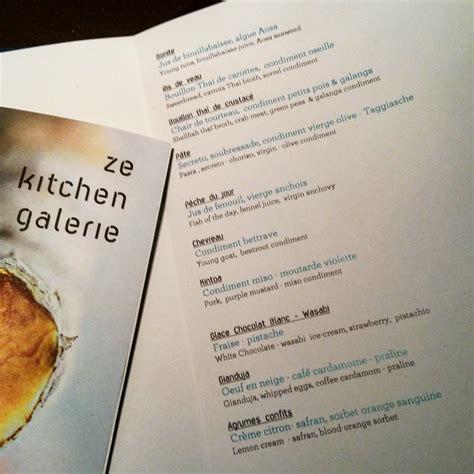 Ze Kitchen Galerie, Temple De La Cuisine Fusion Gratinez