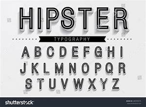 Image Gallery hipster typography