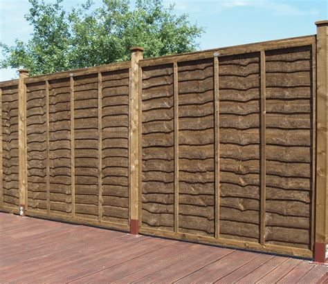 6ft Fence Panels With Trellis by Grange Weston Professional 6ft Fence Panel