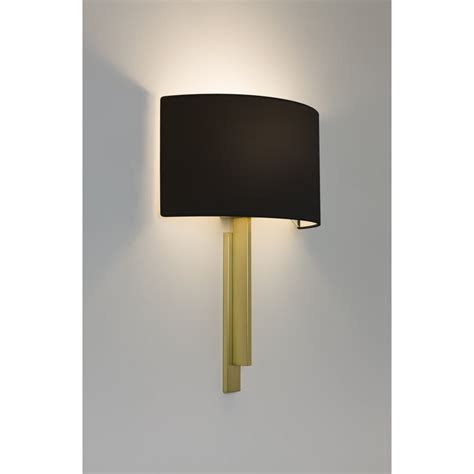 astro 7255 tate 1 light matt brass wall light