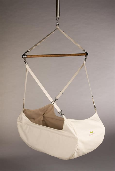 Kanoe Baby Hammock by The Kanoe Swing On 10 Hanging Cradles To Rock Your