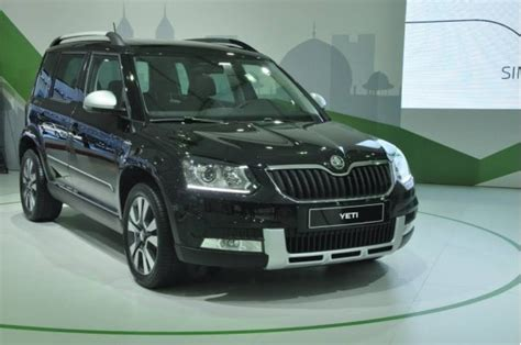 Skoda Yeti Facelift's High End 'elegance' Trim To Come In