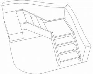 Calcul Escalier Quart Tournant : comment dessiner un escalier quart tournant ~ Melissatoandfro.com Idées de Décoration