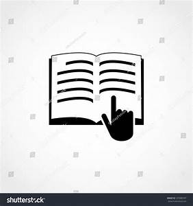Manual Book Symbol Read Before Use Stock Vector 235980187