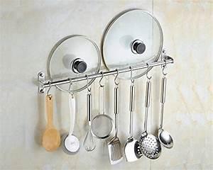Barre Pour Ustensile Avec Crochet : barre murale support de rangement 0742010462323 cuisine ~ Edinachiropracticcenter.com Idées de Décoration