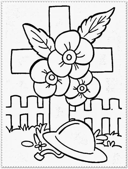Coloring Remembrance Pages Canada Pdf Coloringhome Popular