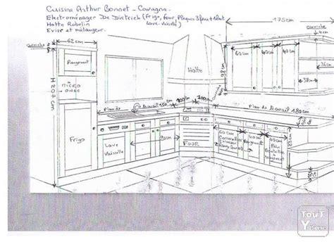 installation cuisine ikea cuisine intégrée plan