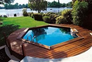 Petite Piscine Hors Sol Bois : piscine hors sol acier m tal ou bois images arts et ~ Premium-room.com Idées de Décoration