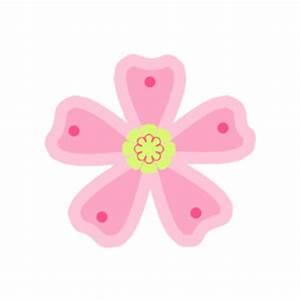 Pink Green Flower Clip Art - Pink Green Flower Image ...