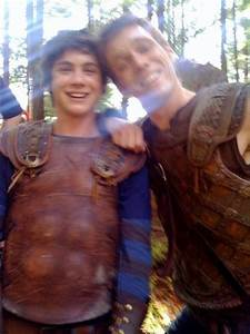 Percy Jackson and the Olympians images Jake Abel and Logan ...