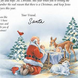 inspirational personalized letter from santa view 5 With miles kimball letter from santa