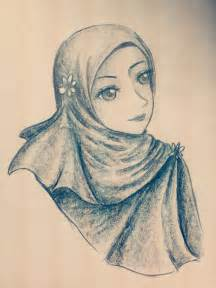 Anime Girl Pencil Drawing
