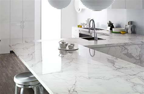 kohler bancroft caesarstone calacatta or low stress marble our house