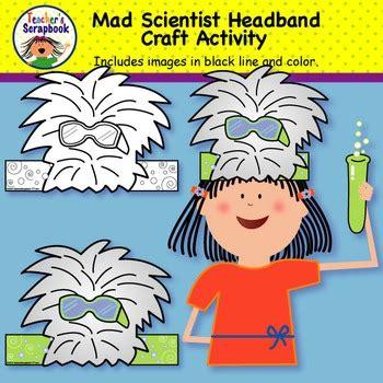 mad scientist headband craft activity