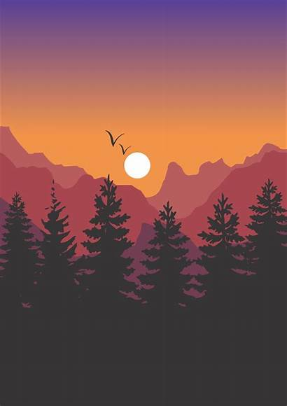 Wallpapers Landscape 2480 3508 Illustrator Reddit Painting