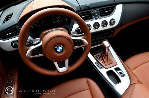 bmw  milk chocolate custom leather interior autoevolution