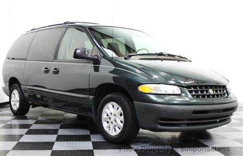Chrysler Se by 2000 Used Chrysler Voyager Grand Voyager Se At