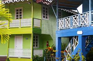 decorative caribbean homes designs exle of caribbean style balconies on some colorful houses