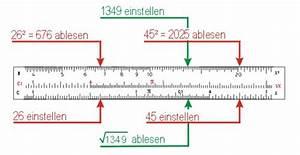 Quadratzahlen Berechnen : die winkelskalen des rechenschiebers ~ Themetempest.com Abrechnung