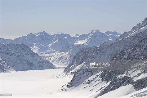 jungfraujoch mountain pass bernese alps switzerland europe