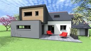 photos facades de maisons modernes With exemple de facade de maison