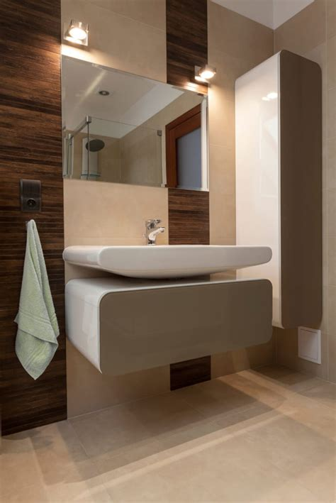 Modern Floating Bathroom Sinks by 29 Bathrooms With Stylish Floating Sinks