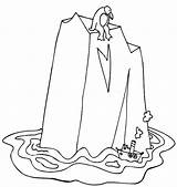 Iceberg Coloring Pages Ship Printable Gigantic Getcolorings Designlooter 635px 04kb sketch template