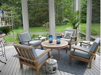 deck furniture ideas Naturewood Furniture for both Indoor and Outdoor Sitting ...