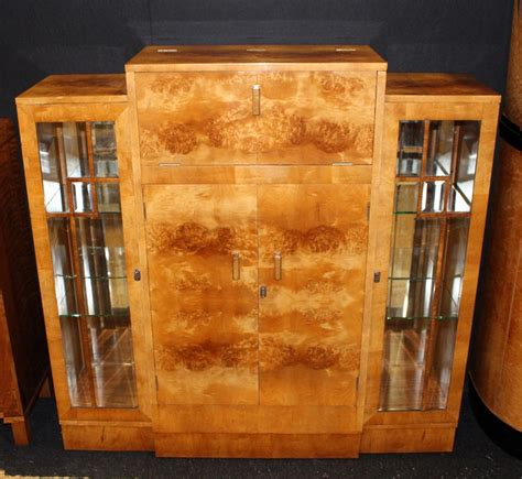 art deco cocktail cabinet  sellingantiquescouk