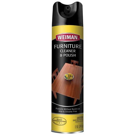 wood cleaner polish aerosol weiman