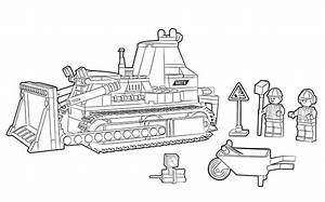 60074 bulldozer colouring page legor city activities With cd wiringpi build 2