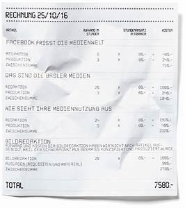Rechnung Bitte : die rechnung bitte was ein artikel in der tageswoche kostet ~ Themetempest.com Abrechnung