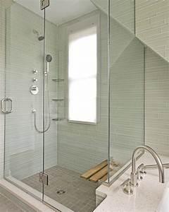 Pretty shower window treatment for Windows for bathroom showers