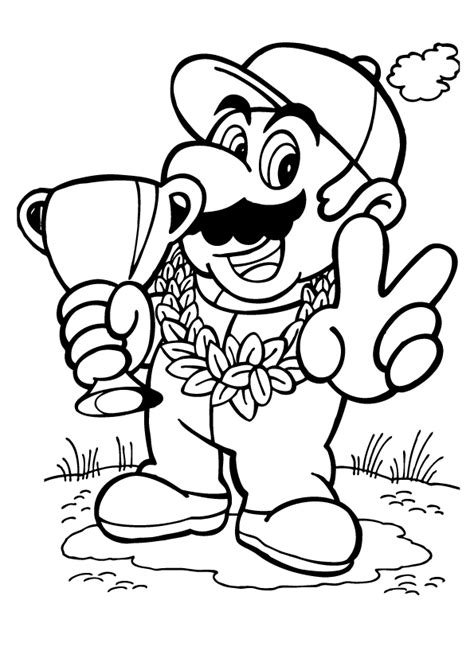 Mario brothers, boo the ghost, baddies, princess. Super Mario Coloring Pages - Best Coloring Pages For Kids