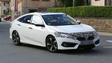 2017 honda civic sedan 2017 honda civic sedan hatchback getting ready for europe
