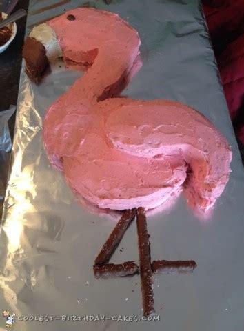 cool flamingo cake